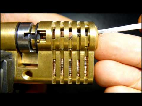 Lockpicking : Single Pin Picking (SPP)
