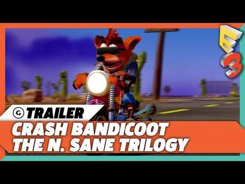 Crash Bandicoot N Sane Trilogy E3 2017 Trailer