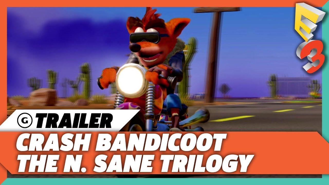 Crash Bandicoot N Sane Trilogy - E3 2017 Trailer