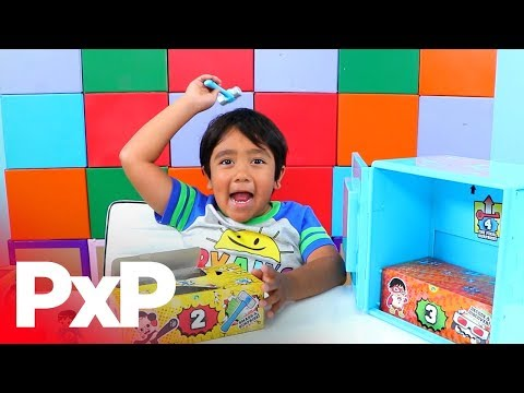 Unlock fun with the Ryan's World Super Surprise Safe from Just Play! | A Toy Insider Play by Play