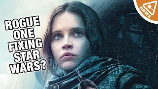 Will Rogue One Fix a Major Star Wars Plot Hole? (Nerdist News w/ Jessica Chobot)