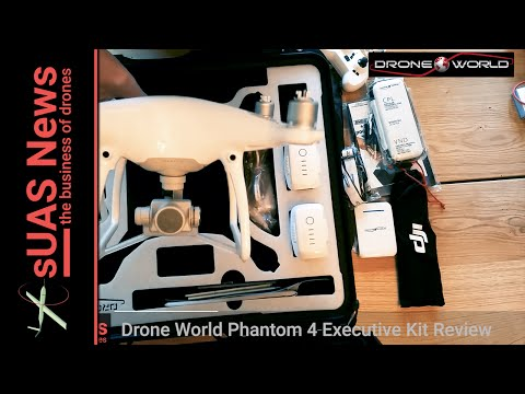 Drone World Phantom 4 Executive Kit Review