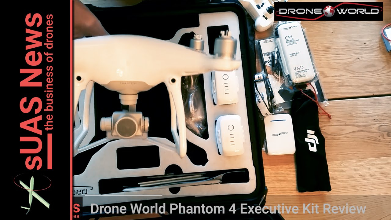 Drone World Phantom 4 Executive Kit Review - YouTube