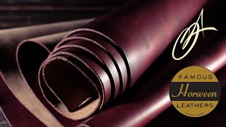 Horween Leather - Rich Wine Chromexcel 5-6oz