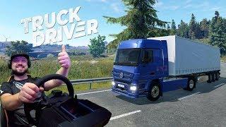 truck Driver - круче чем ETS 2 и на консолях? Первый взгляд на PS4 Pro (эксклюзивный ранний доступ)