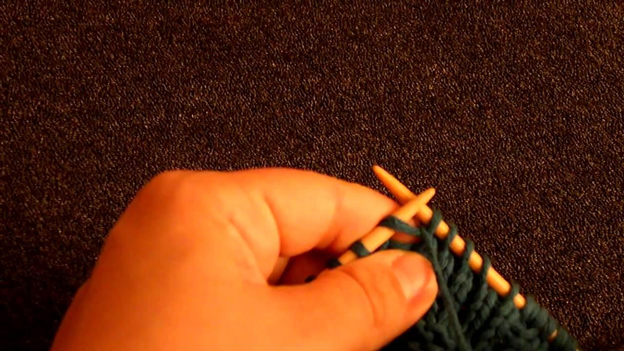 Comment tricoter une maille enroulée ? {vidéo}  Tricot & crochet  Pure