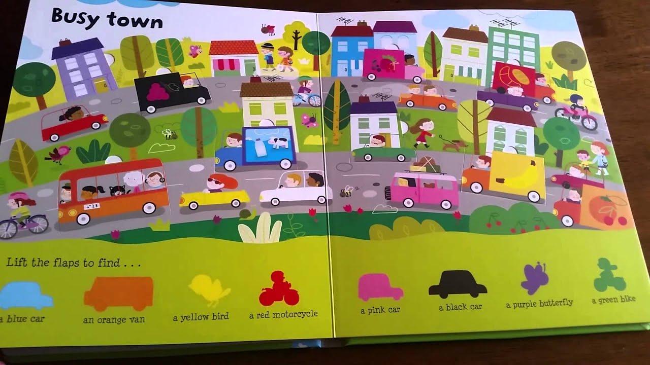 Lift-the-Flap Colors: Usborne Books & More - YouTube