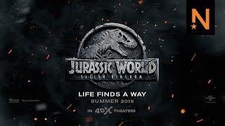 'Jurassic World: Fallen Kingdom' Official Trailer HD