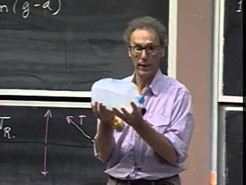 Lec 07: Weight, Perceived Gravity, and Weightlessnes | 8.01 Classical Mechanics (Walter Lewin)