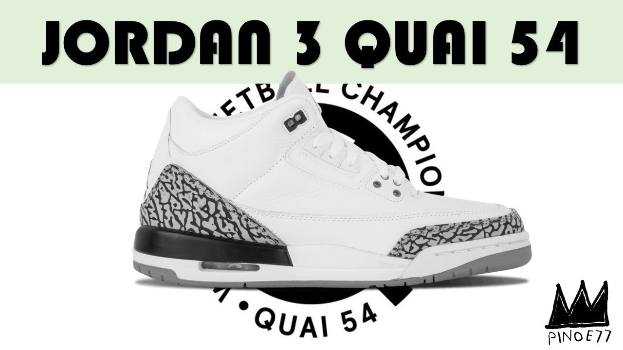 hot sales ef1f2 60e43 AIR JORDAN 3 QUAI 54, CACTUS JACK AIR JORDAN 4, OFF WHITE THE TEN RESTOCK &  MORE!!
