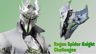 *NEW* XBOX exclusive rogue spider knight skin in Fortnite with leaked emotes!