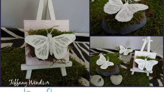 How To Make A Butterfly Garden Tablescape By Tiffany Windsor