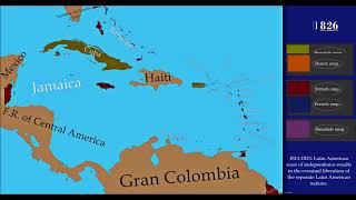The History of the Caribbean - Every Year