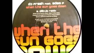 DJ Fresh & Adam F - When Sun Goes Down (Dillinja Remix) BBK005