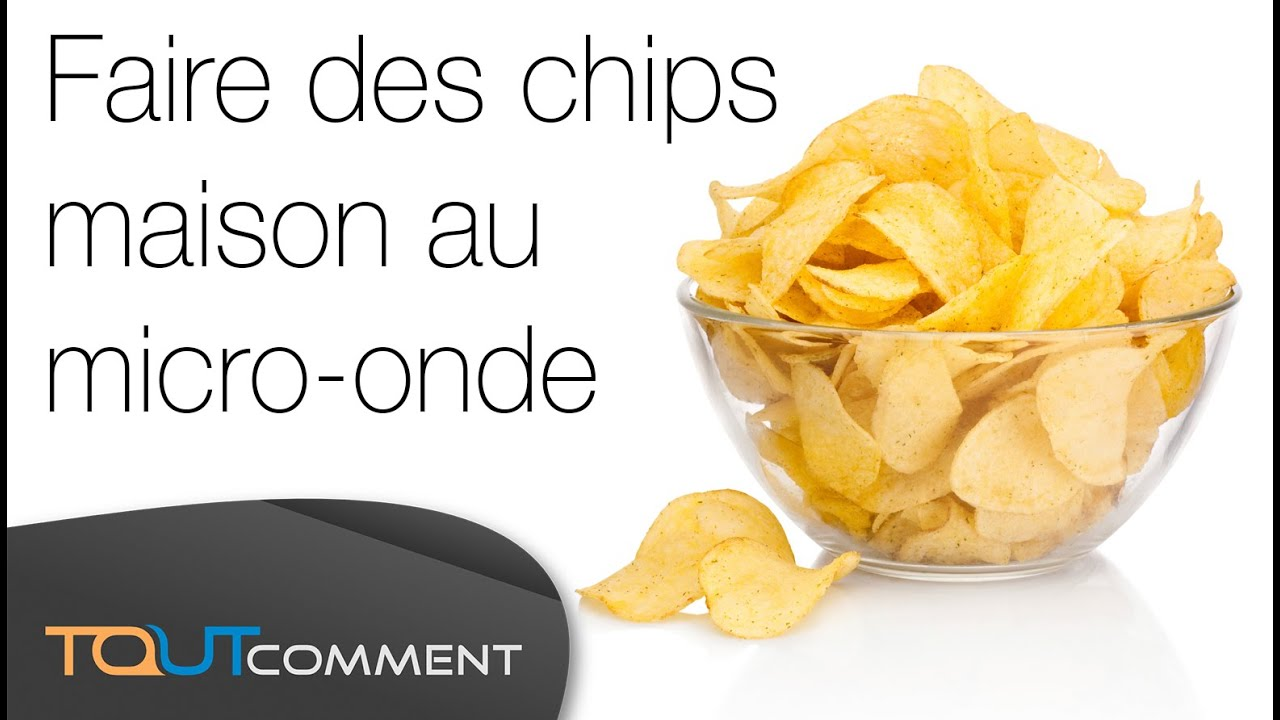 Faire des chips maison au micro onde youtube for Chips betterave micro onde