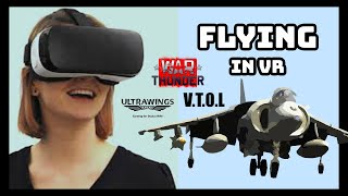 Flying in VR - WarThunder   VTOL   Ultrawings