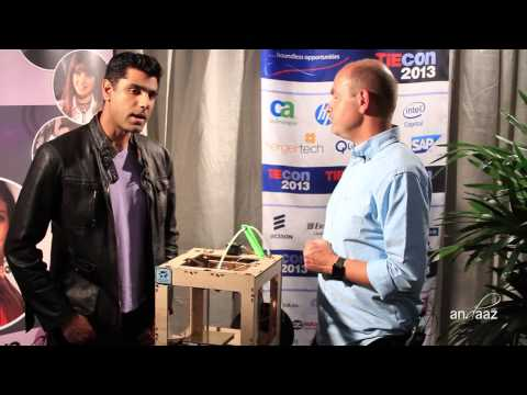 TiEcon 2013 Media Lounge: Interview with Chris Anderson 3D Robotics