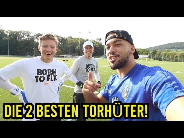 Die 2 besten Torhüter auf Youtube gegen mich!