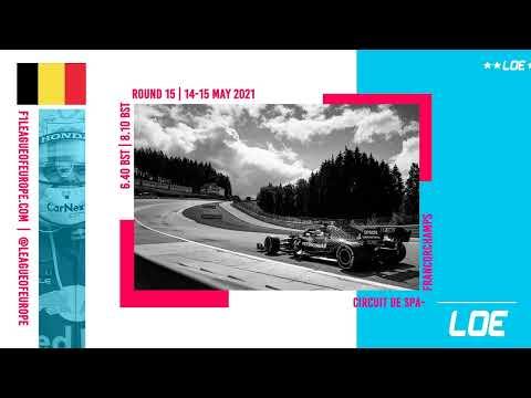 League of Europe   F1 2020   Season 5   Division 3   Round 15   Belgium