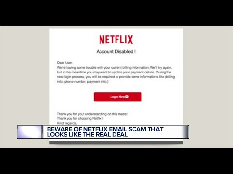 Beware of Netflix email scam that looks like the real deal