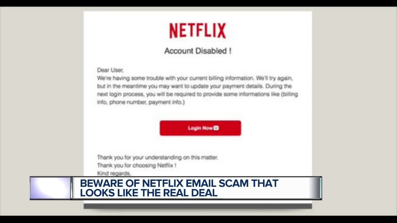 Netflix Users, Beware of This Email Scam That Looks So Real Its Scary