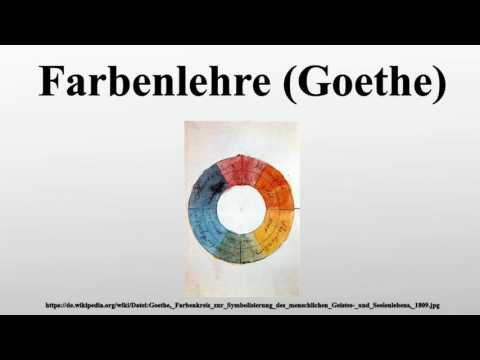 Farbenlehre (Goethe)