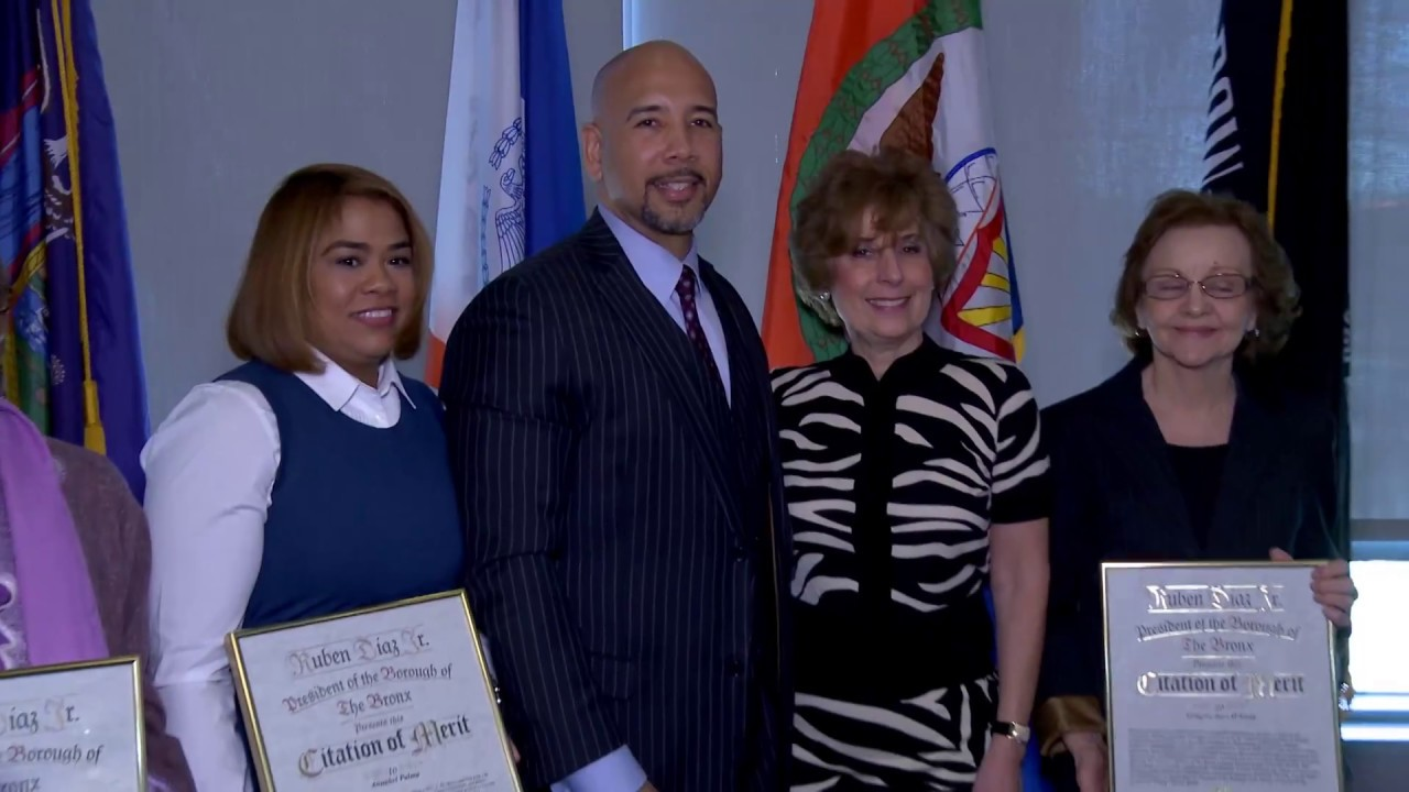 Bronx Borough President Celebrates Women's History Month 2017