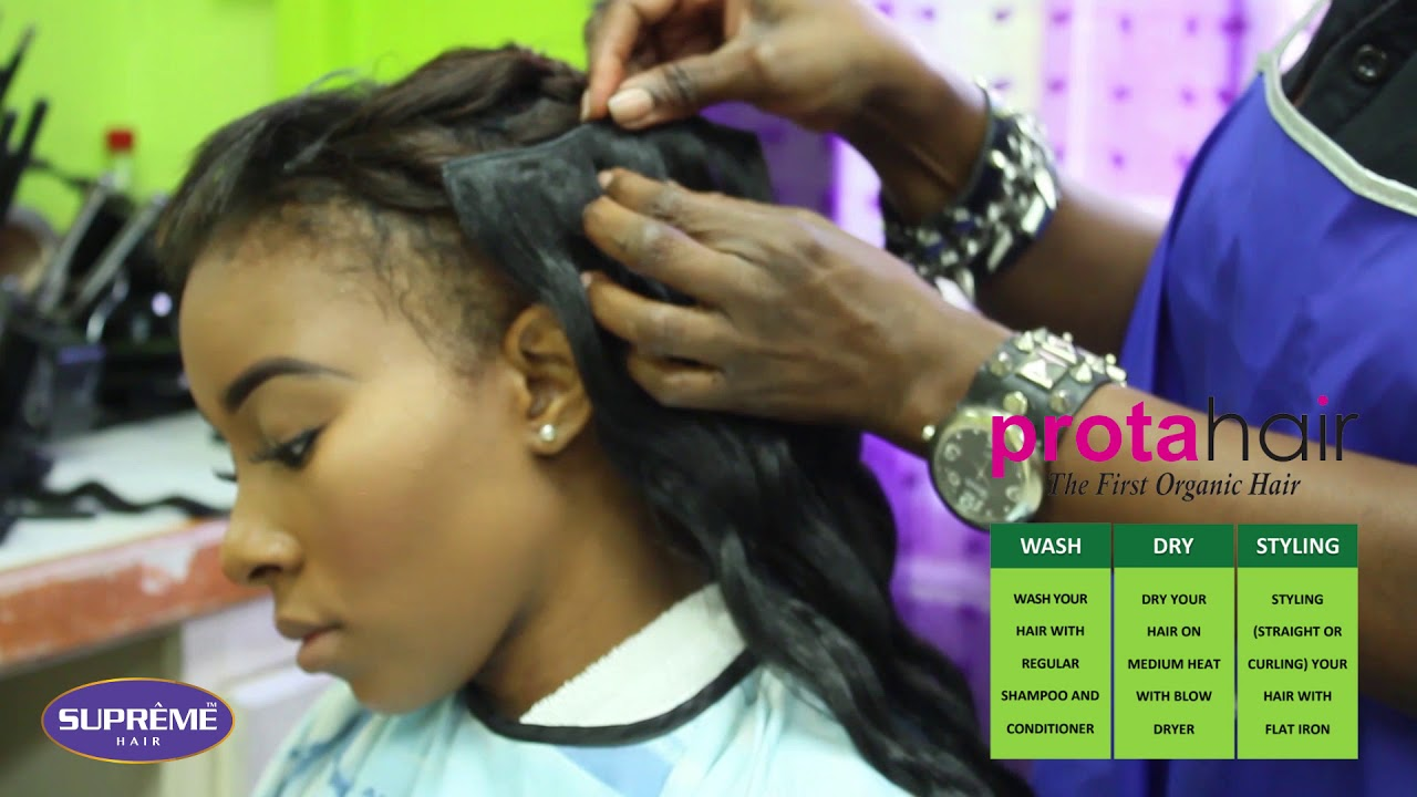 Prota Clip On Hair Instant Makeover Youtube