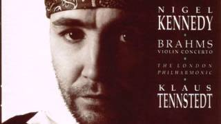 Nigel Kennedy Brahms violin concerto 3d mov