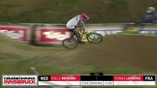 RockShox Innsbruck Pump Track Challenge - Bensink vs. Lemoine