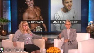 "Rebel Wilson Plays 'Who'd You Rather?' With Bieber, Zac Efron, Drake & Talks Harry Styles ""Assault"""
