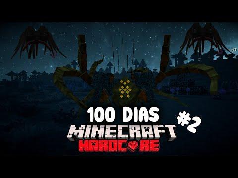 SOBREVIVÍ 100 días en un Apocalipsis de PARÁSITOS en Minecraft HARDCORE y esto es lo que sucedió #2
