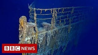 Sub dive reveals Titanic decay - BBC News
