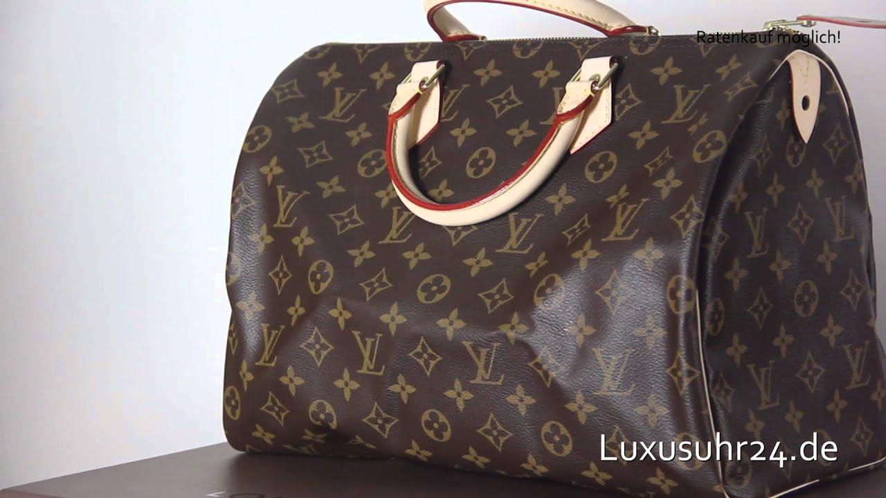2e2e83956eba Louis Vuitton Speedy 35 M41524 Luxusuhr24 Ratenkauf ab 20 Euro Monat ...