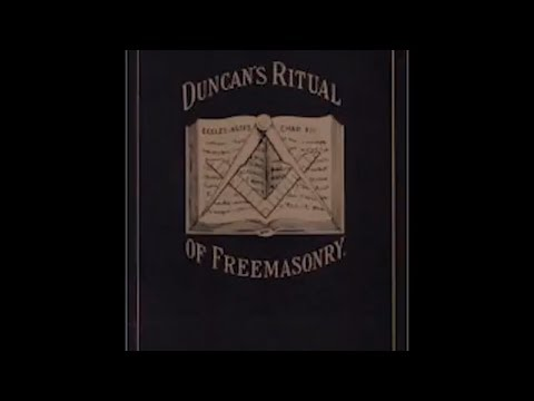 Duncan's Masonic Ritual and Monitor   Chapter 1  Part 1