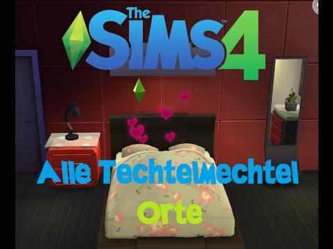 SIMS 4: Alle Techtelmechtelorte.! [HD] - YouTube