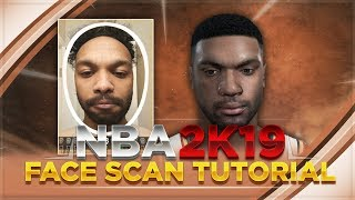 How to Face Scan Using the My NBA 2K19 Mobile App