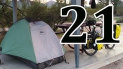 bicycle touring, Yuma AZ, Wellton AZ, Dateland AZ, I 8