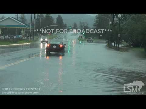 1-8-17 Sonoma County, CA Flash Flooding