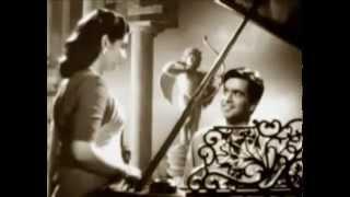 Milte Hi Aankhen-Hemant Kumar & Uma Devi-Babul (1950).flv