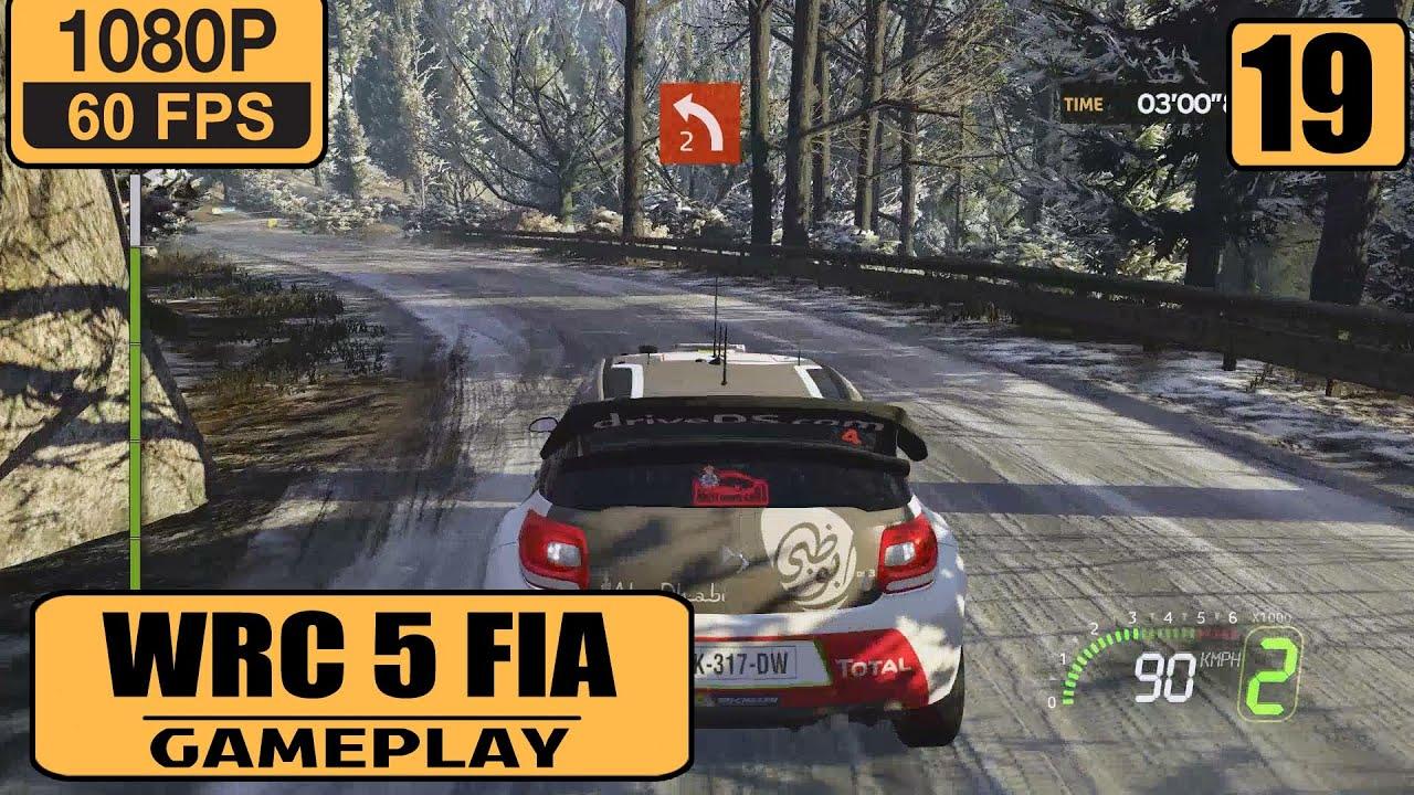 WRC FIA World Rally Championship Gameplay Walkthrough Part - Wrc sweden 2015 map