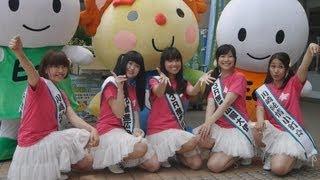 川崎市で9月からごみ収集体制が変更されることなどをPRするイベント...