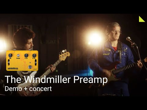 The Windmiller Preamp demo + concert I Aclam Guitars