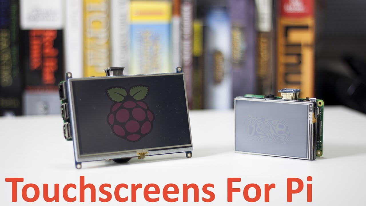 Installing Touchscreen Drivers for Raspberry Pi