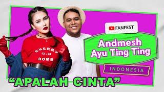 Download Ayu Ting Ting feat. Andmesh - Apalah Cinta Live Performance at YouTube FanFest 2020
