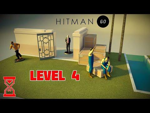 Видео: Полное прохождение Четвёртого уровня   Hitman Go