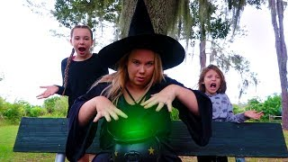 Our Mom is a Witch Pretend Play Halloween Story