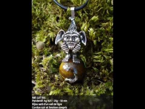 GOTHIC AND FANTASY JEWELLERY  (Bijoux d'outre monde)