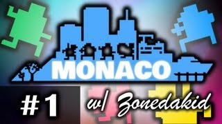 Monaco - EP.1 - Multiplayer Madness with Zonedakid - Whats Yours is Mine - 2D Indie Game on Steam