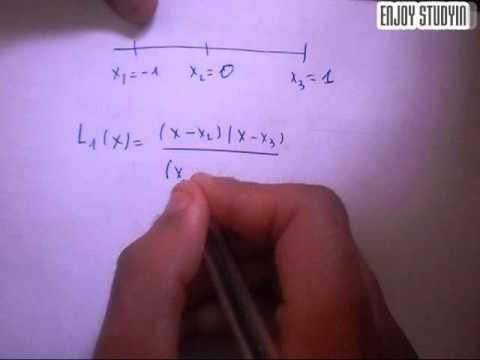 Analyse numérique : interpolation polynomiale par méthode de lagrange